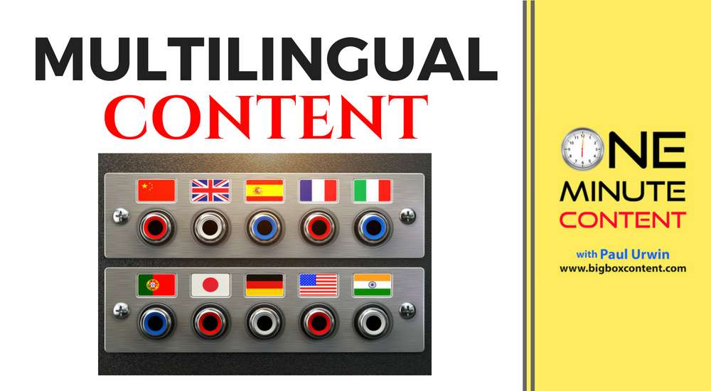 multilingual content creation
