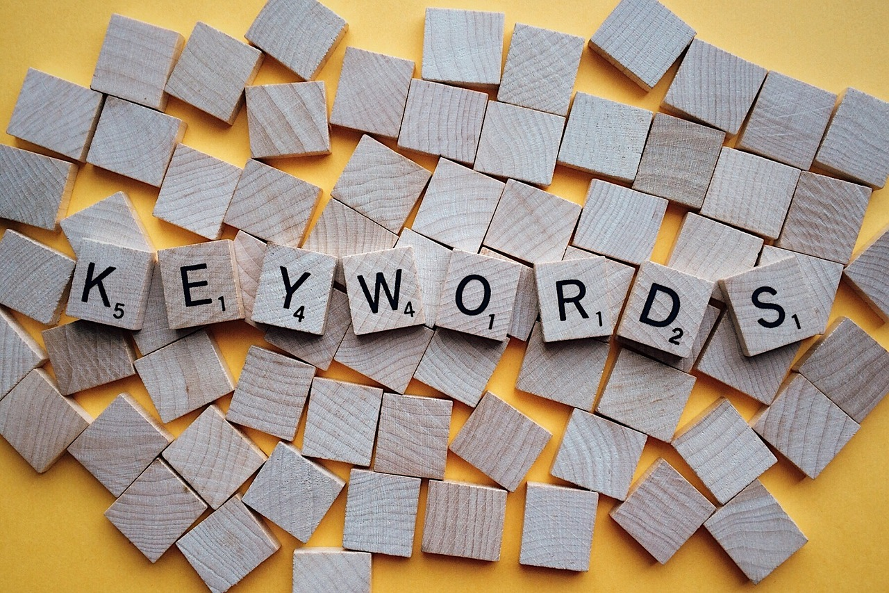 content creation keywords