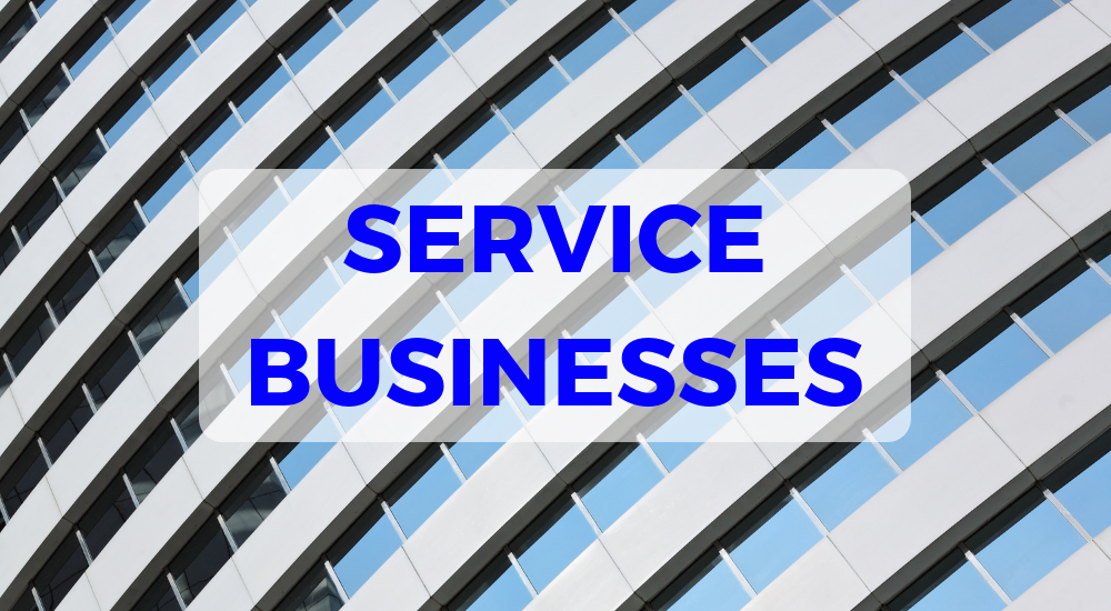 service businesses sell online