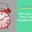Are You Wasting Your Time With Content Creation?